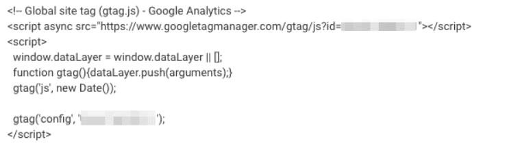 Google Analytics 4 gtag.js